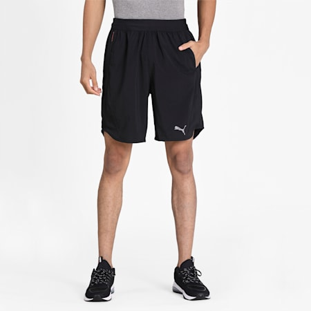 Power THERMO R+ Vent Men's Training Shorts, Puma Black, small-IND