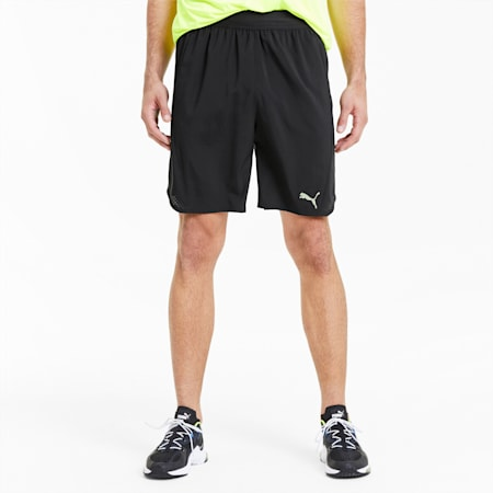 Power THERMO R+ Vent Men's Training Shorts, Puma Black, small-SEA