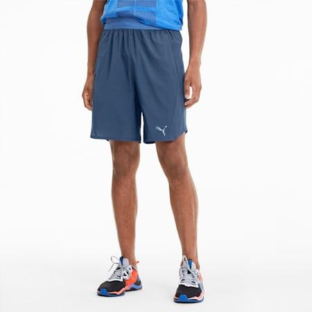 Power THERMO R+ Vent Men's Training Shorts, Dark Denim-Palace Blue, small