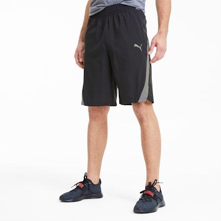 Power BND Knitted Men's Training Shorts, Puma Black, small-SEA