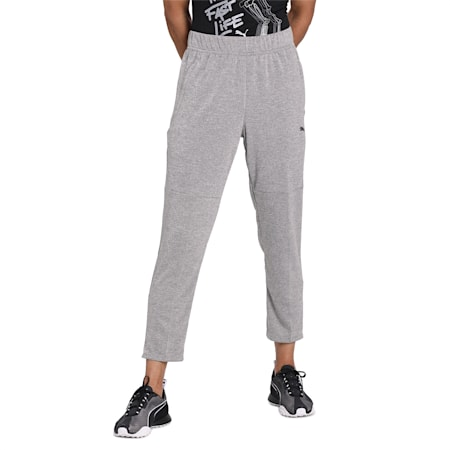 Power Knit Men's Trackster Pants, Medium Gray Heather, small-IND