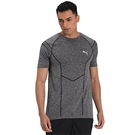 Reactive evoKNIT Men's dryCELL Training T-Shirt, Puma Black Heather, small-IND