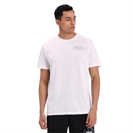 Collective Tri-blend Men's Training T-Shirt, Puma White, small-IND