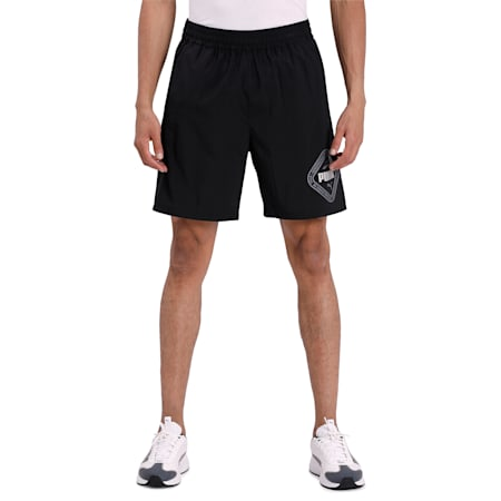 Collective Woven Men's Training Shorts, Puma Black, small-IND