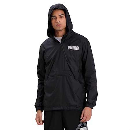 Collective Half Zip dryCELL Men's Training Jacket, Puma Black, small-IND