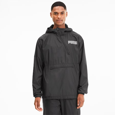 Collective Men's Half Zip Training Jacket, Puma Black, small