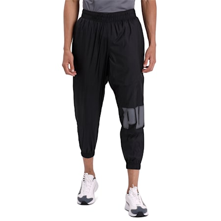 Collective Woven Men's Training Pants, Puma Black, small-IND