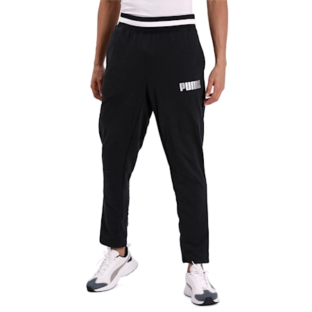 Collective Warm Up Men's Training Sweatpants, Puma Black, small-IND