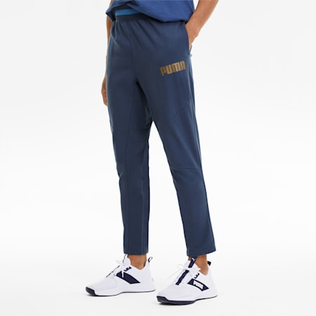 Collective Men's Warm Up Sweatpants, Dark Denim, small