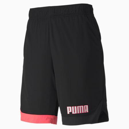 Shorts de colores combinados Collective para hombre, Puma Black, pequeño