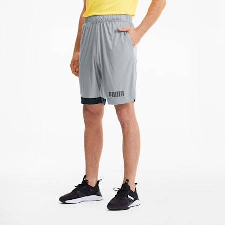 Collective Men's Colorblock Shorts, High Rise, small
