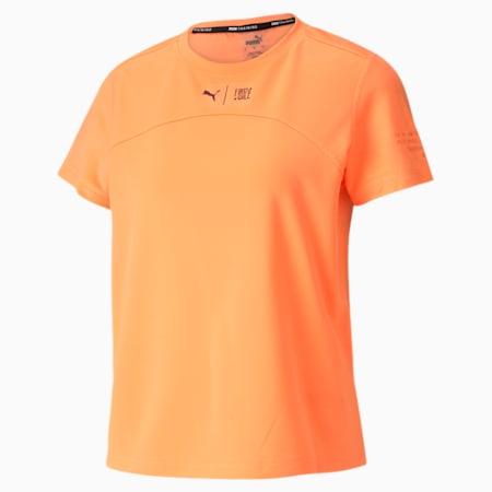 PUMA x FIRST MILE-løbe-T-shirt til kvinder, Fizzy Orange, small