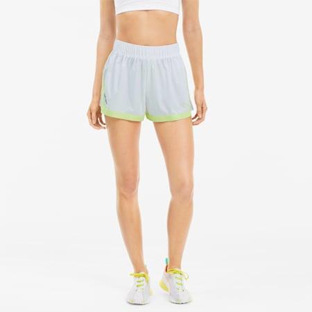 Shorts de punto Be Bold para mujer, Puma White, pequeño