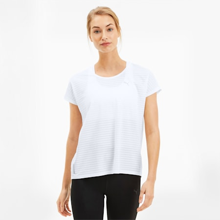 Be Bold Women's Tee, Puma White, small
