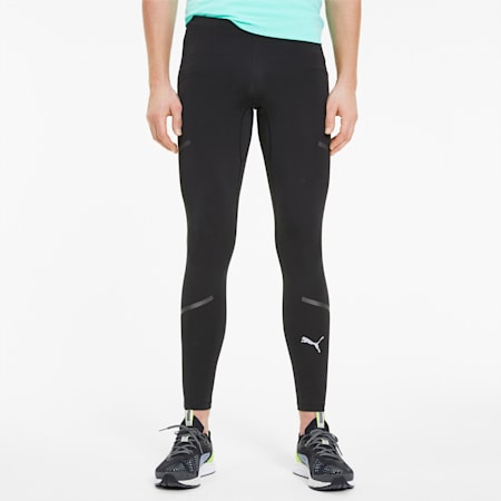 Runner ID Thermo R+ Men's Running Tights, Puma Black, small