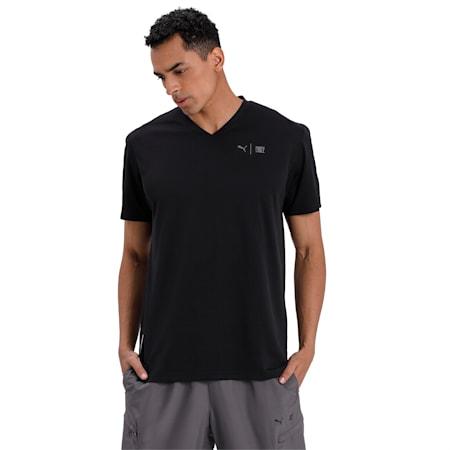 PUMA x FIRST MILE Short Sleeve Men's Training T-Shirt, Puma Black, small-IND