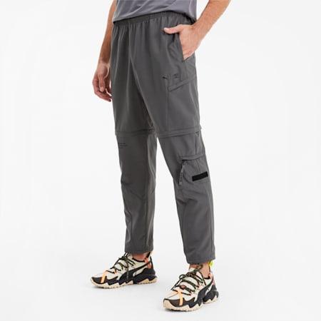 Pantaloni da training in tessuto da uomo PUMA x FIRST MILE 2 in 1, CASTLEROCK, small
