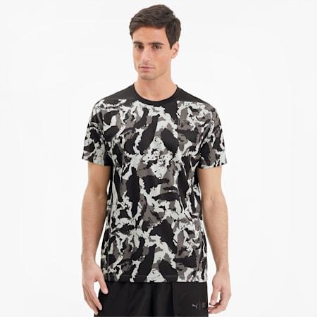Camiseta deportiva para hombre PUMA x FIRST MILE Camo, CASTLEROCK-camo print, small