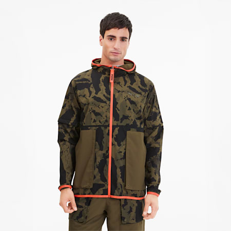 PUMA x FIRST MILE 2-in-1 Running Jacke, Burnt Olive, small