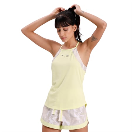 The First Mile Tank, Sunny Lime-Camo Prt, small-IND
