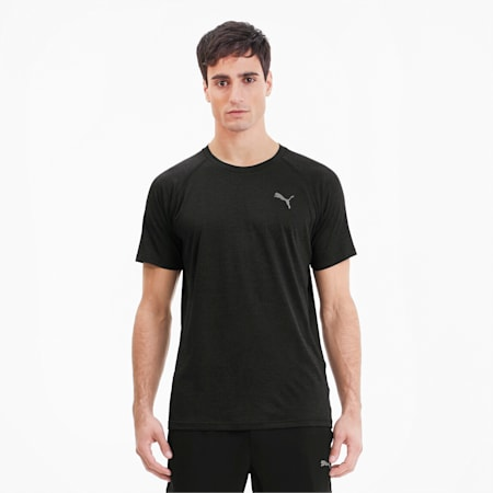 Heather dryCELL Men's Training T-Shirt, Puma Black Heather, small-IND