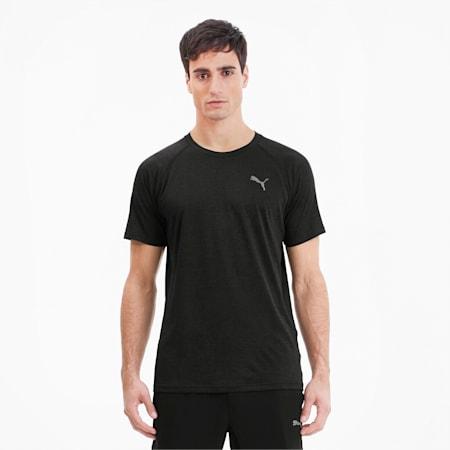 PUPMA Heather dryCELL Men's Training T-Shirt, Puma Black Heather, small-IND