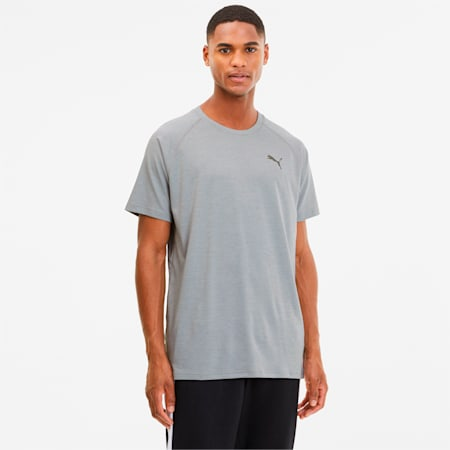 Heather dryCELL Men's Training T-Shirt, High Rise Heather, small-IND