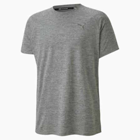 PUPMA Heather dryCELL Men's Training T-Shirt, Medium Gray Heather, small-IND