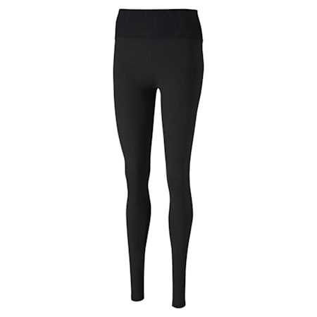 Lace Eclipse Full Women's Tights, Puma Black, small-IND