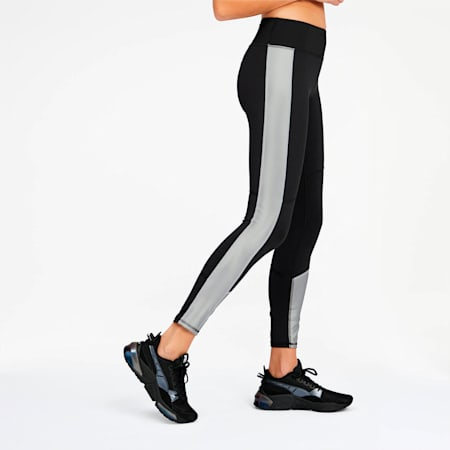 After Glow Women's 7/8 Leggings, Puma Black-Titanium Silver, small