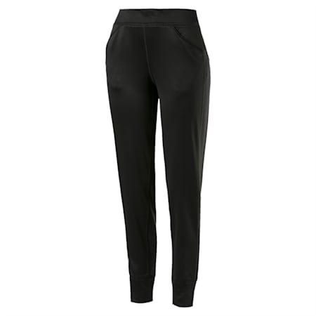 After Glow Fleece Women's Training Sweatpants, Puma Black, small-IND