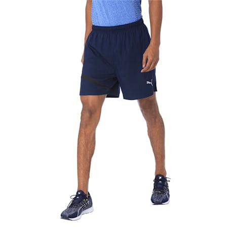 IGNITE Running Shorts, Peacoat-Puma Black, small-IND
