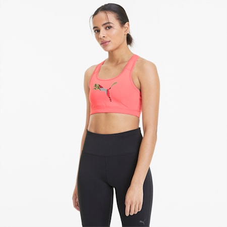 4Keeps Damen Sport-BH, Bubblegum-Cat, small