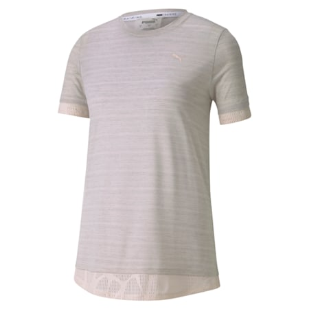Studio Mixed Women's Lace T-Shirt, Rosewater, small-IND
