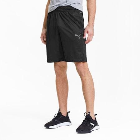 PUMA Men's Reactive Knit Shorts, Puma Black, small-SEA