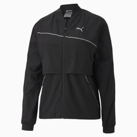 런 라이트 우븐 울트라 자켓/Run Ultra Jacket, Puma Black, small-KOR
