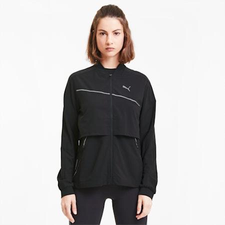Run Ultra Women's Jacket, Puma Black, small