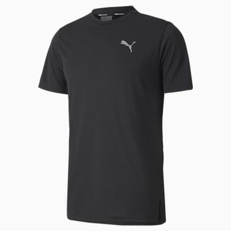 T-shirt da running Lite Laser Cat uomo, Puma Black, small