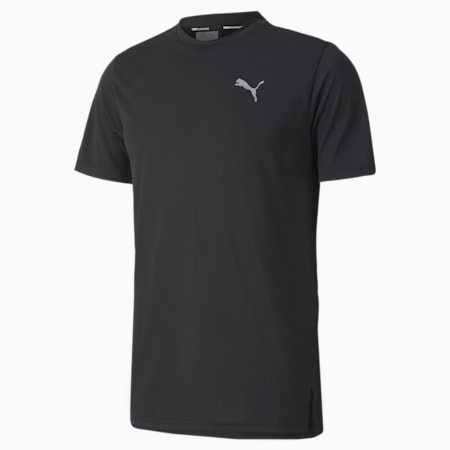 Lite Laser Cat Reflective Tec dryCELL Men's Running T-Shirt, Puma Black, small-IND