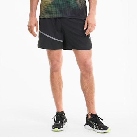 Run Lite Men's Woven Shorts, Puma Black, small