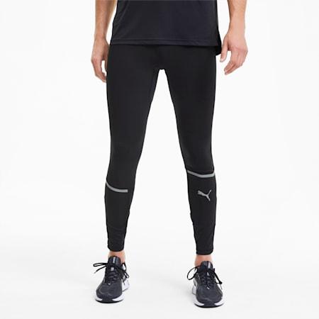 Lite Long Men's Running Tights, Puma Black, small-SEA