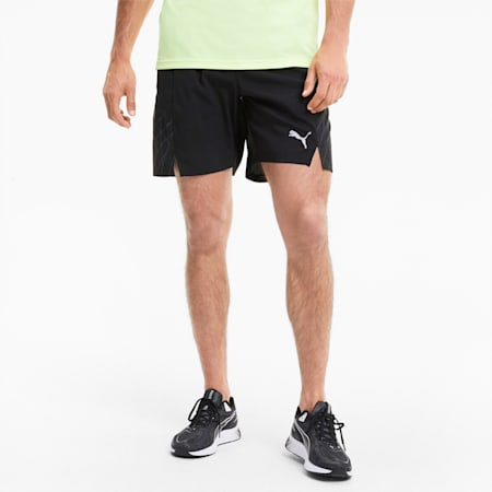 """Graphic Woven 7"""" Men's Running Shorts, Puma Black-Ultra Gray, small-IND"""