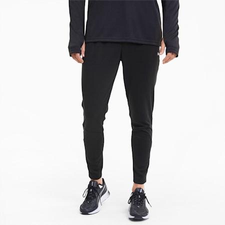 Run Men's Tapered Pants, Puma Black, small