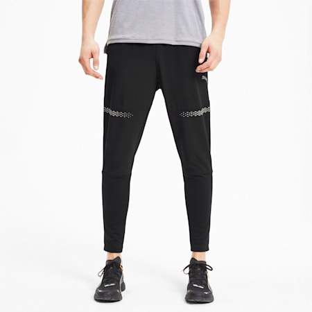 Runner ID Men's Tapered Pants, Puma Black, small
