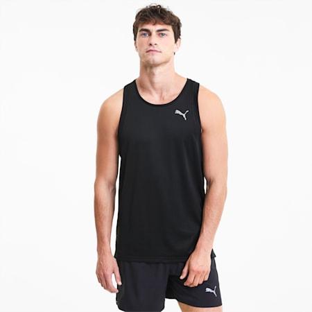 Favourite Men's Running Tank Top, Puma Black, small-SEA