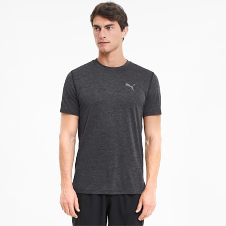T-Shirt chiné Favourite Running pour homme, Dark Gray Heather, small