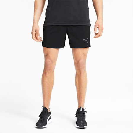 Favourite Woven dryCELL Reflective Tec Men's Running Shorts, Puma Black, small-IND