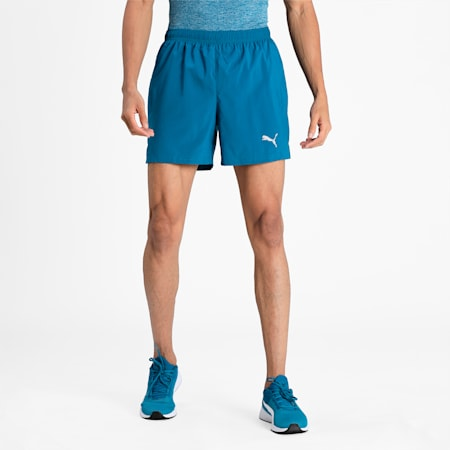 """Favourite Woven 5"""" Men's Session Running Shorts, Digi-blue, small-IND"""