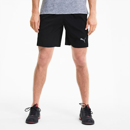 "Favourite Woven Session 7"" dryCELL Men's Running Shorts, Puma Black, small-IND"