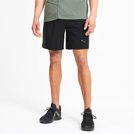 Run Favorite Men's Session Shorts, Puma Black-Thyme, small